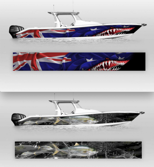 Boat Wraps Graphics