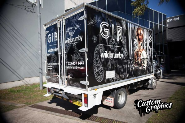 Wildbrumby Truck graphics