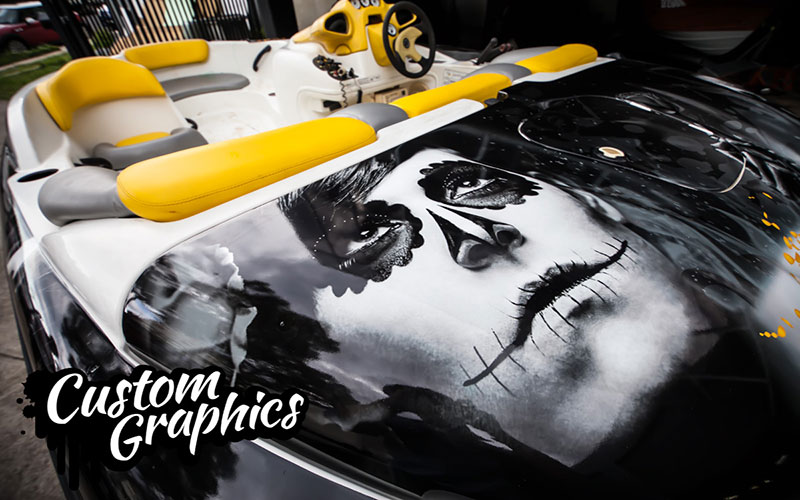custom auto graphics