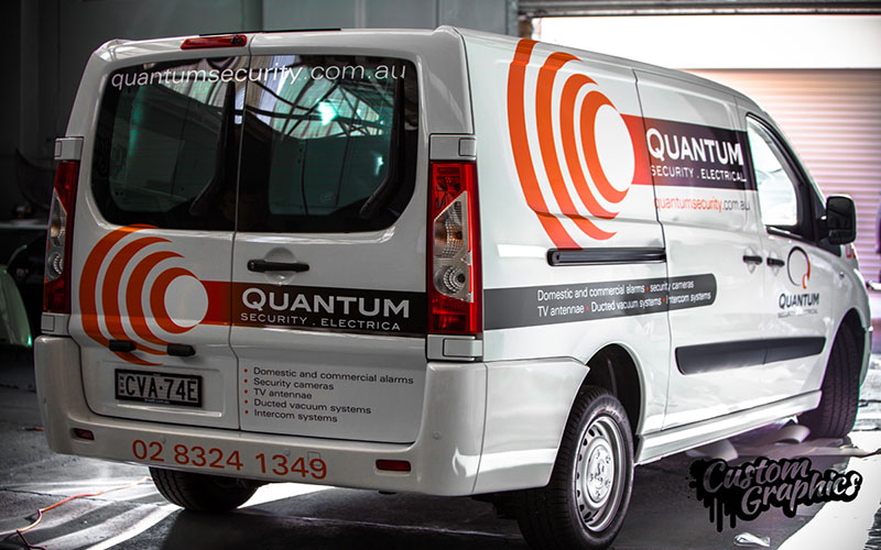 van vehicle signage