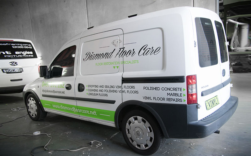 vehicle signage vinyl