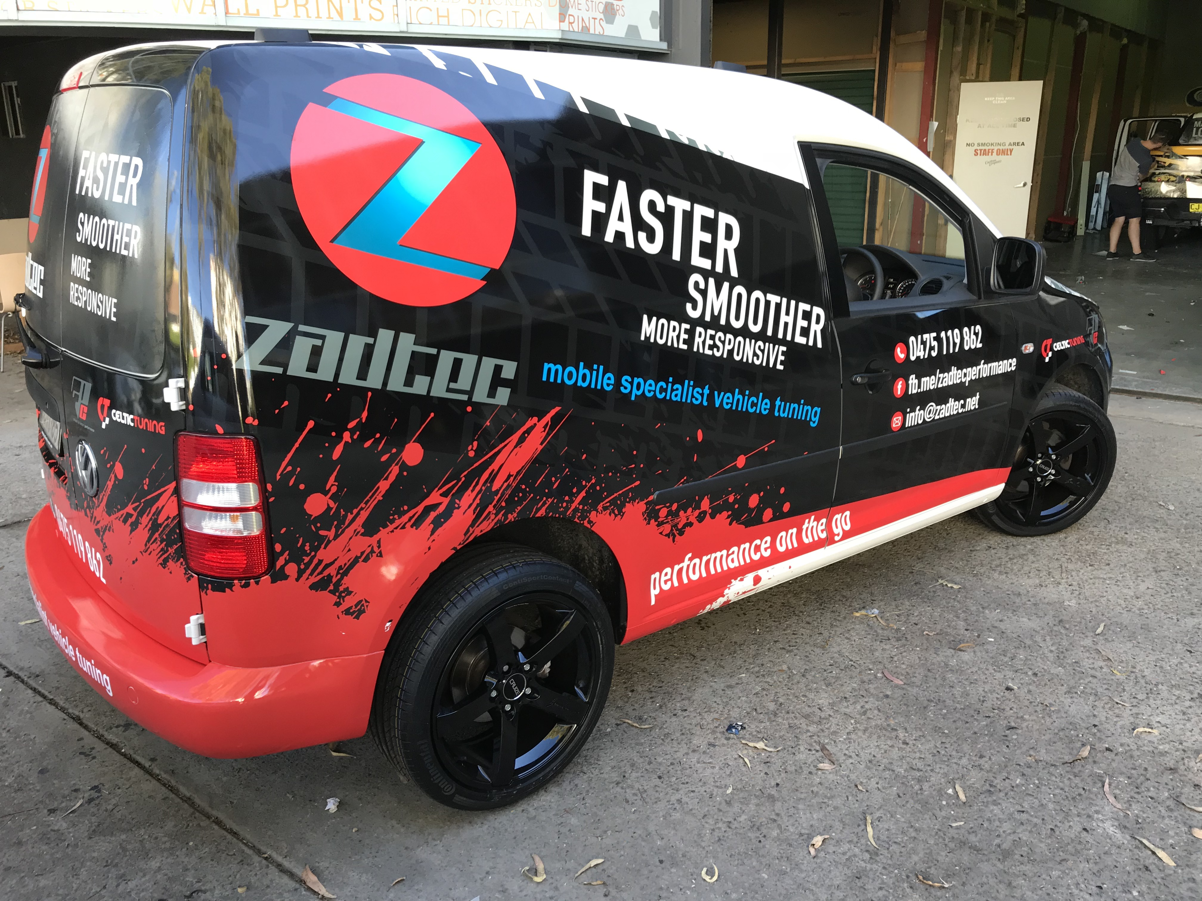 Vehicle Tuning Wrap