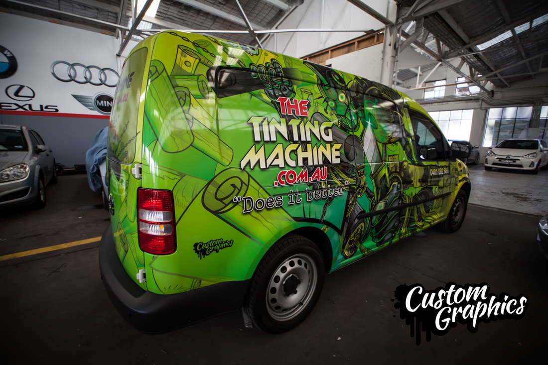 Tinting machine
